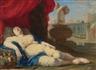 """Jean Daret, Jeune femme endormie dit aussi """"la belle du canet"""""""