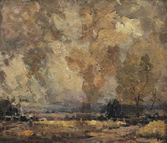Landscape at Dusk By W.B. McInnes