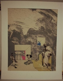 Artwork by Masuo Ikeda, Interior, Made of Color lithograph