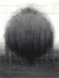 Idris Khan, EVERY... BERND AND HILLER BECHER SPHERICAL TYPE GASHOLDER