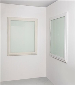 Gregor Schneider, DOUBLE WHITE WINDOW: 2 WORKS