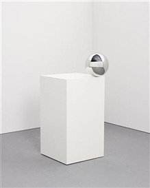 Jeppe Hein, Ball on Pedestal
