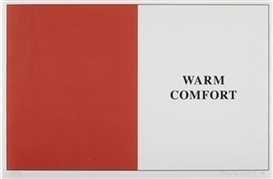 John Baldessari, Warm Comfort from Prima Facie [Fifth State]