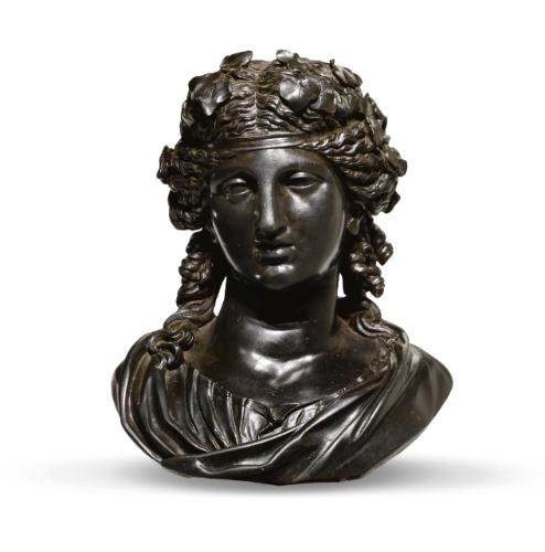 object analysis bust of ariadne