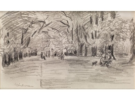Max Liebermann, In The Park
