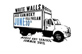 logo, White Walls Boston