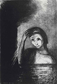 Artwork by Odilon Redon, Emile Verharen, Les Débâcles, Edmond Deman, Brussels, 1889 (Mellerio 101), Made of lithograph