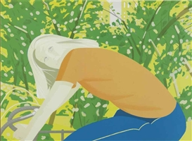 Alex Katz, Bicycle Rider (Maravell 130)