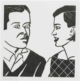 Alex Katz, 10 works:A Tremor in the Morning: ten plates (see Markhof 57)
