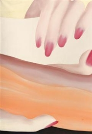 Artwork by Lambert Maria Wintersberger, Nail Polish 1, Made of Artificial resin on canvas