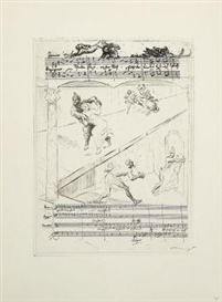 Max Slevogt, Marginal etchings to Mozart's The Magic Flute