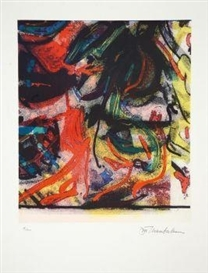 Artwork by John Chamberlain, Untitled, Made of Colour serigraph