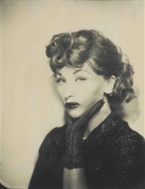Artwork by Cindy Sherman, Lucille Ball, 1975, Made of chromogenic print