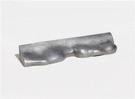 """Artwork by Wilhelm Loth, Kleinplastik 29/67 -Busenobjekt (II), (""""Kleinplastik für Braunschweig""""), Made of Aluminum"""