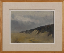 Artwork by Anne Packard, Dune, Made of Oil on canvas