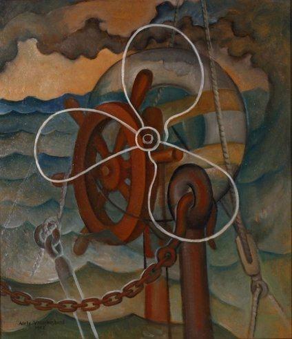 Younghusband Adele Nautical Composition 1952 Mutualart