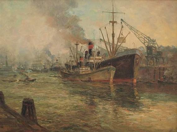 Wöhner Louis | Port of Hamburg | MutualArt