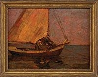 FISHING SCHOONER By Frederick J. Mulhaupt