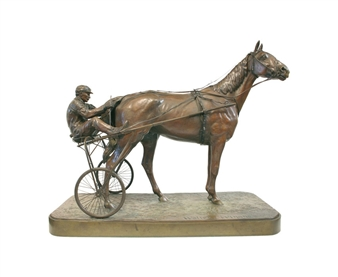 An American Trotter by Walter Winans
