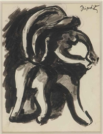 Jacques Lipchitz, Untitled (recto and verso)