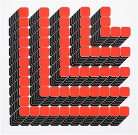 Artwork by Thomas Lenk, 2 Works: Untitled, Made of Silkscreen print