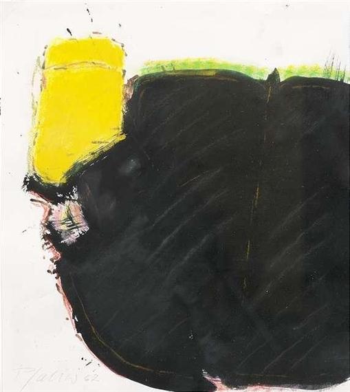 georg karl pfahler informel composition 1962. Black Bedroom Furniture Sets. Home Design Ideas