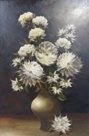Artwork by Paul Roelof Citroën, Floral Still Life, Made of Oil on canvas