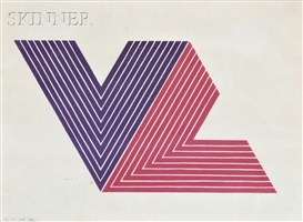 Artwork by Frank Stella, Ifafa I, Made of Color lithograph on paper