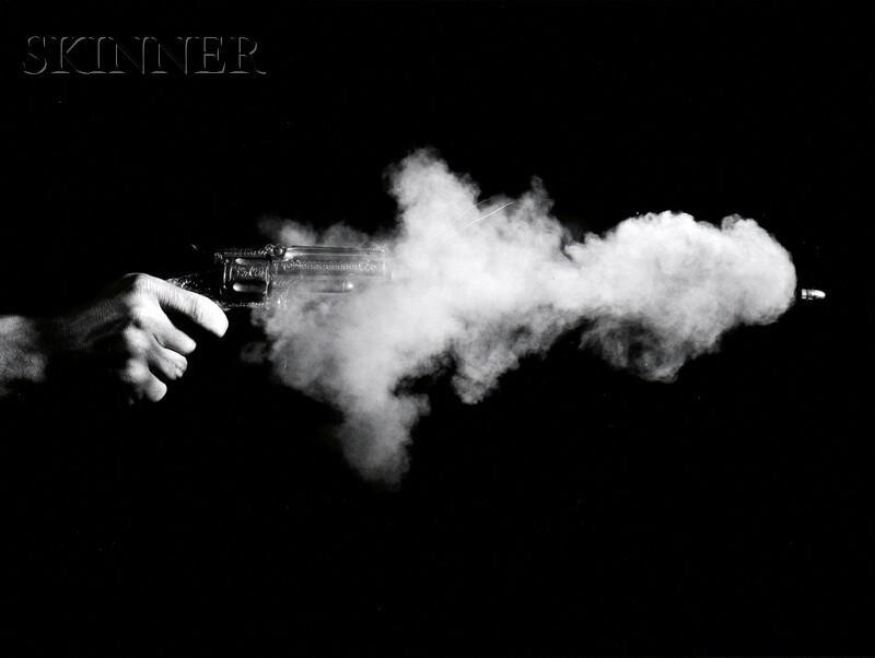 Harold Eugene Edgerton - 2 Works : Antique Gun...
