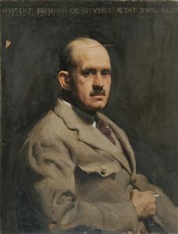 Hubert Ridder de Stuers, Age 43 By W.B. McInnes