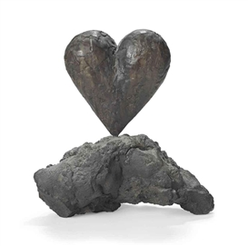 Jim Dine, The Heart on the Rock