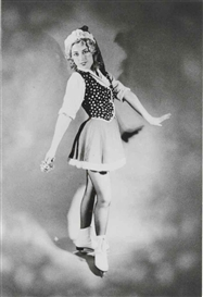 Artwork by Cindy Sherman, Untitled (Ice Skater), Made of gelatin silver print