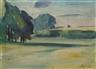 Heinrich Stegemann, 4 works: A rural landscape