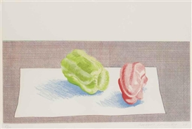 David Hockney, Two Peppers