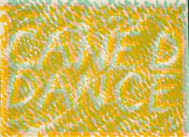Bruce Nauman, Danced Caned