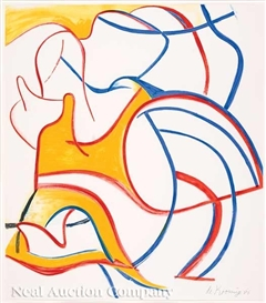 Artwork by Willem de Kooning, Untitled, Made of lithograph