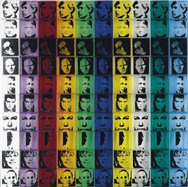 Andy Warhol, Portraits of the Artists, from: Ten from Leo Castelli (Feldman & Schelmann II.17)