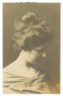 Artwork by Arnold Genthe, Portrait Of Lydia Campbell, Made of Toned gelatin silver print