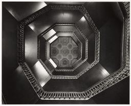Artwork by William Clift, Staircase, Philadelphia City Hall, Pennsylvania, Made of Gelatin silver print