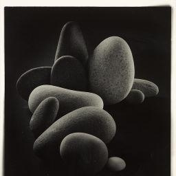Artwork by John Jonas Gruen, Untitled (Stones), Made of Gelatin silver print