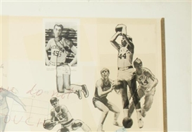 Artwork by Howard Kanovitz, Basketball Pinboard, Made of Screenprint in colours