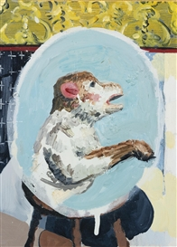 Artwork by Cheyney Thompson, Monkey, Made of Painting, Oil on canvas