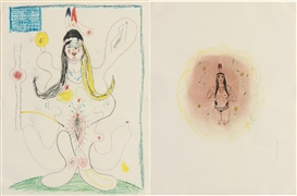 Mike Kelley, 2 Works : i. Untitled #1; ii. Untitled #5