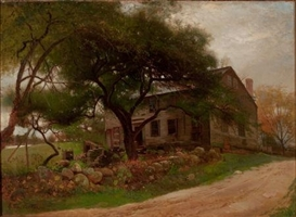 Arthur Parton, Old Farm House in the Catskills