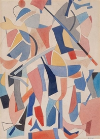 Carl Robert Holty, Abstract Composition