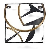 Artwork by Robert Jacobsen, Composition, Made of Black painted iron and brass