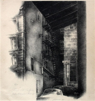 Rue St. Sulpice, Montreal, Canada By Cesar Legaspi ,1979