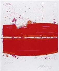 Artwork by Markus Prachensky, Untitled, Made of colour screenprint