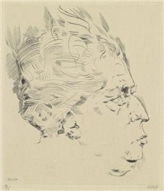 Max Oppenheimer, Max Reinhardt/Head in Profile