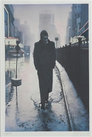 Artwork by Gottfried Helnwein, 'Boulevard of broken dreams', Made of Colour lithograph on laid paper